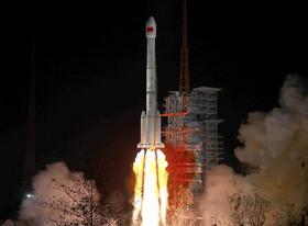 پرتاب ماهواره جدید چین به فضا از پایگاه فضایی سیچوان
