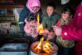 خانهای روستایی در منطقه تبت چین