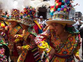 """جشنواره """"کاندلاریا"""" در شهر لیما پرو"""
