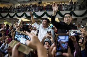 حضور بَدَلهای شبیه به رهبر کره شمالی و رییس جمهوری فیلیپین در کلیسایی در هنگکنگ