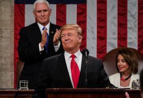 سخنرانی سالانه ترامپ در کنگره آمریکا