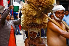 جشنوارهای آیینی در شهر لالیتپور نپال