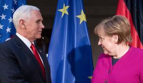 مواجهه معاون رییس جمهوری آمریکا و صدراعظم آلمان در کنفرانس امنیتی مونیخ