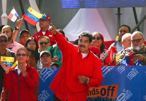 پیام آشتی مادورو به بایدن