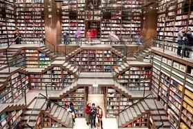 """افتتاح یک فروشگاه کتاب در شهر """"چونگینگ"""" در جنوب غرب چین"""