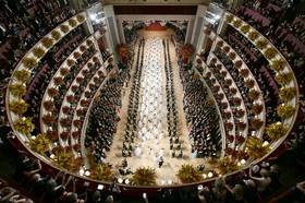 سالن اوپرای شهر وین اتریش