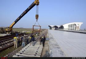 آمادگی راه آهن قزوین - رشت جهت بهره برداری