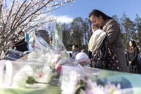 """مراسم یادبود قربانیان سونامی سال 2011 """"فوکوشیما"""" ژاپن در هشتمین سالگرد این فاجعه طبیعی"""