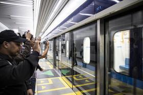 افتتاح قطار سریعالسیر شهر جاکارتا اندونزی. این خط قطار زیر زمینی و رو زمینی نقش بسیار مثبتی در کاهش ترافیک در پایتخت اندونزی خواهد داشت.