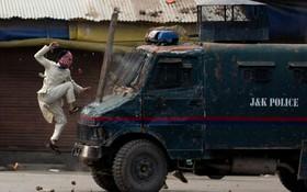 (تصاویر)  تظاهرات در کشمیرهند