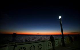 (تصاویر) طلوع آفتاب در کنار رودخانه ریو دلاپراتا در بوینس آیرس آرژانتین