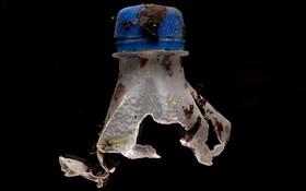 (تصاویر)  جمع آوری زباله های پلاستیکی در سواحل انگلیس