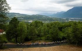 (تصاویر) مسابقه دوچرخه سواری دور ایتالیا