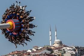 (تصاویر) شهربازی در استانبول ترکیه و..... در عکس های خبری روز