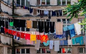 (تصاویر)  آپارتمانی در غرب اوکراین