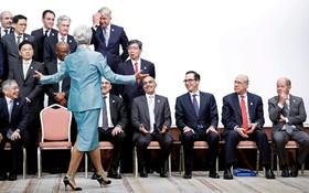 (تصاویر)  کریستیان لاگارد مدیرعامل صندوق بین المللی پول در اجلاس جی بیست در ژاپن