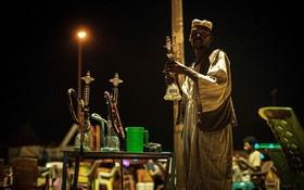 (تصاویر) رستورانی در کنار رود نیل در خارطوم سودان
