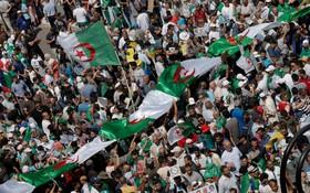 (تصاویر) تظاهرات ضد دولتی در الجزیره مرکز الجزایر