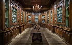 (تصاویر) مجموعه ای از بیش از پانصد قطعه از ظروف متعلق به ملکه کاترین دو مدیچی که در قصری در فرانسه گرد آوری شده است