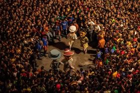 (تصاویر) جشنواره هنری پاتوم در برگا در اسپانیا که ریشه در قرن چهاردهم میلادی دارد