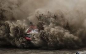 (تصاویر) مسابقه اتوموبیل رانی در شمال غرب چین در لیونینگ