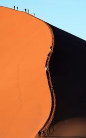 (تصاویر) منطقه ای صحرایی در نامیبیا