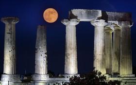 (تصاویر) نمایی از معبد آپولو در یونان