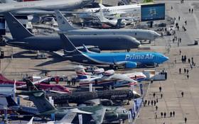 (تصاویر) نمایشگاه هوایی پاریس