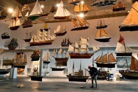 (تصاویر) موزه دریانوردی در بوردو فرانسه و مدل های  کشتی های بادبانی