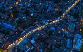 (تصاویر) خیابانی با قدمت صدها سال در شهر هیان در منطقه جیانگسو در چین