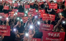 (تصاویر) تظاهرات در هنگ کنگ علیه چین