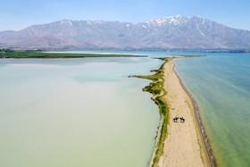 (تصاویر) دریاچه وان ترکیه