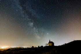 (تصاویر) تصویری از راه شیری در آسمان مجارستان