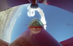 (تصاویر) نخستین پرواز نمایشی خلبان زن آکروباتیک سیمین اوزترک سنر در نخستین نمایشی که یک خانم خلبان در ترکیه انجام می دهد
