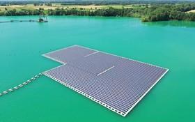 (تصاویر) نیروگاه خورشیدی در رنچن در شمال آلمان