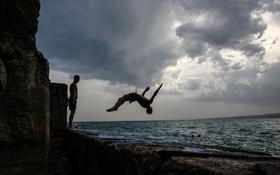 (تصاویر) ساحل ریویرا در نیس فرانسه