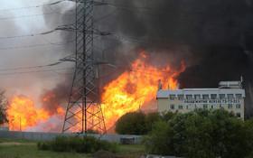 (تصاویر) آتش سوزی در نیورگاه برقی در مسکو با یک کشته و سیزده زخمی
