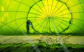 (تصاویر)جشنواره اروپایی بالن های هوای گرام در اسپانیا