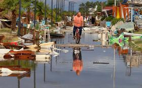(تصاویر)خرابی های ناشی از توفان در شمال یونان
