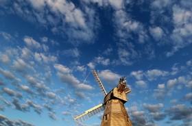 (تصاویر) آسیاب بادی در کنت در انگلیس که در سال 1869 ساخته شده است