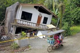 (تصاویر) خرابی زلزله در منطقه میندانائو فلیپین