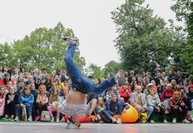(تصاویر) رقابت های جوانان در جشنواره ای در مسکو روسیه