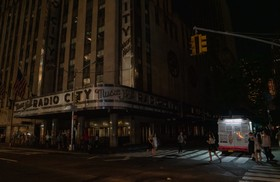 (تصاویر) قطع برق در مرکز شهر نیویورک در منهتن