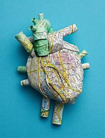(تصاویر) ماکت قلب که بانقش زوریخ ساخته شده است