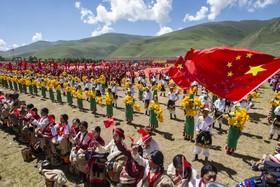 (تصاویر) جشنواره اسب سواری در منطقه یوشو در منطقه تبت در چین