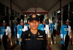 (تصاویر) مراسم افتتاحیه مسابقات ورزشی در زندانی در تایلند