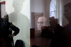 (تصاویر) آلکسی کوزنتسوف وزیردارایی روسیه که در دادگاه به جرم اختلاس 139 میلیون پوند معادل 11 میلیارد روبل محاکمه می شود