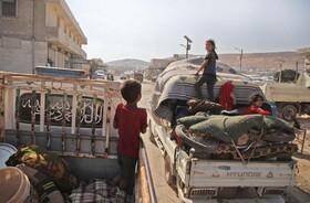 (تصاویر) آوارگان سوری در ادلیب سوریه