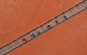 (تصاویر) پل ارتش سرخ در گیزو در چین