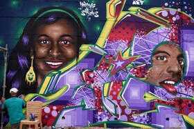 (تصاویر) فستیوال نقاشی دیواری در پرشتینا در کوزوو